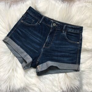 Zara Cuffed Denim Shorts